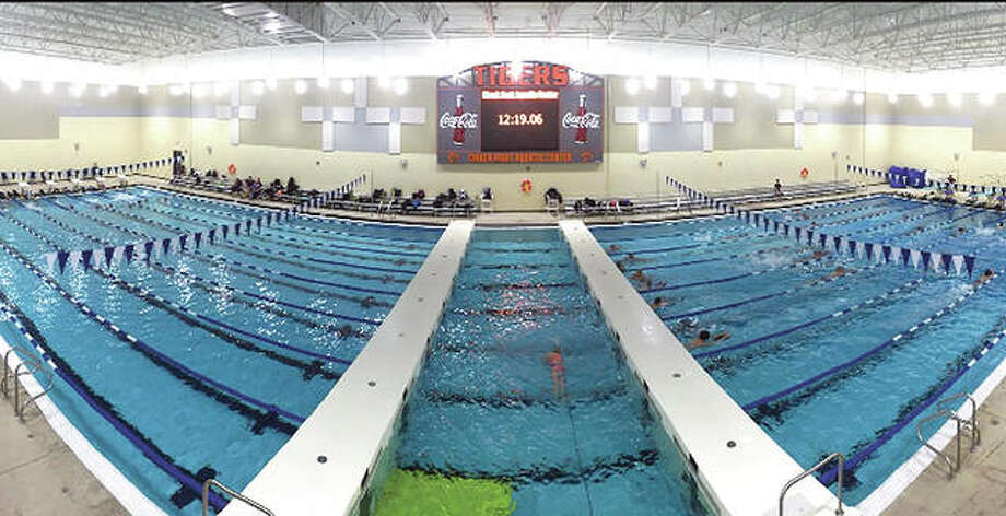 The Chuck Fruit Aquatic Center is the site of this weekend's CFAC Independence Meet, the last local US Swimming long course meet of the season. Photo: Telegraph File Photo