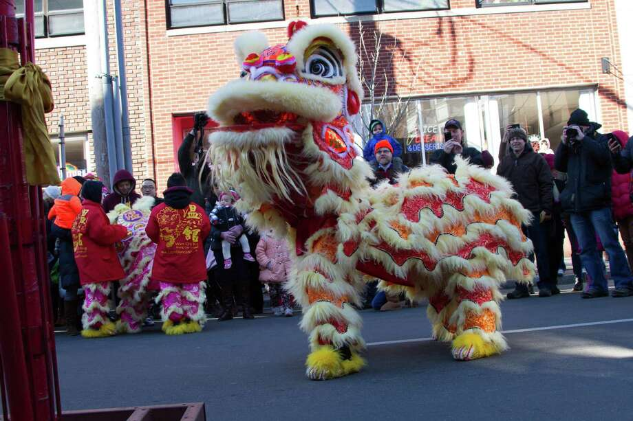 "Marking the traditional Chinese New Year, the Yale China Association and its retail and civic partners will hold the seventh annual ""Lunarfest"" in New Haven Saturday. Find out more. Photo: Emily Reeder / Yale China Association"