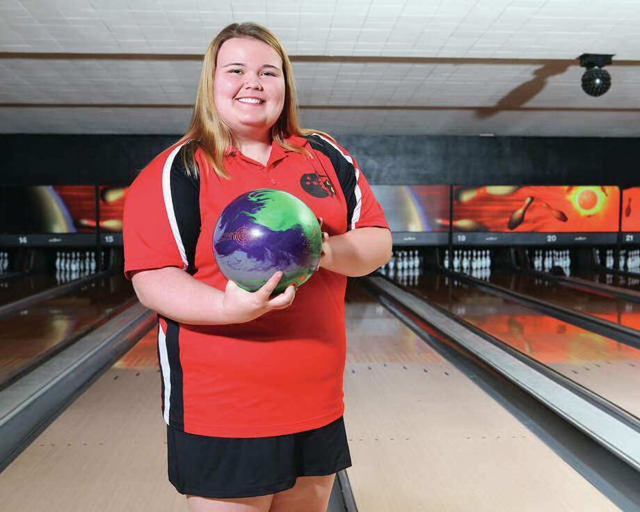 Alton High School's Ashley Heistand had a fourth-place individual finish at the Triad Regional and is a repeat winner of The Telegraph Girls Bowler of the Year award.