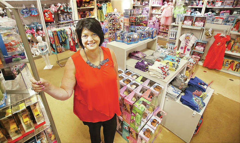 Kathy Nickle, the new general manager of the Alton JCPenney store at Alton Square Mall, stands in the new toy department on the retailer's second floor. Photo: John Badman|The Telegraph