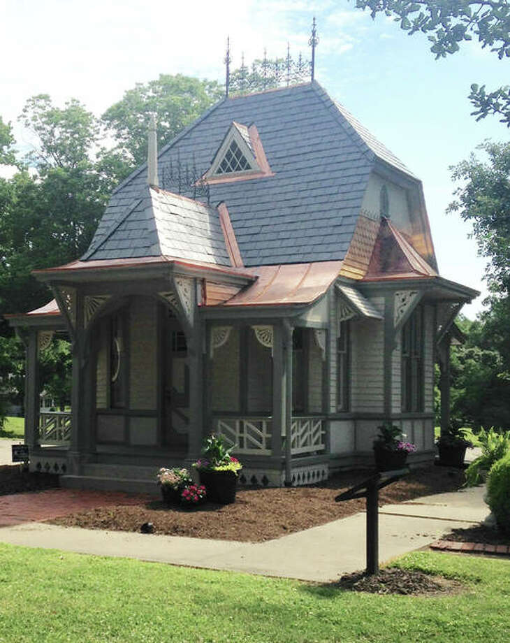 The 15th annual observance of Lucy Haskell's birth will be celebrated from 6:30-8 p.m. Saturday, July 29 at Haskell Park, 1211 Henry St., Alton. Lucy Haskells playhouse, which recently got some long-needed renovations, will be at the center of the festivities. Lucy Haskell was born July 29, 1880, and died of diphtheria on March 27, 1890. Photo: Linda N. Weller | The Telegraph