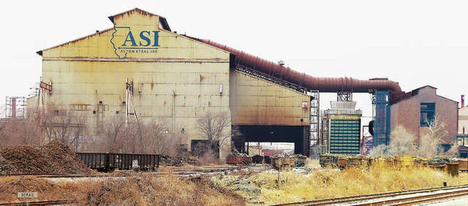 Alton Steel Inc. as seen from Chessen Lane in Alton. Photo: John Badman | The Telegraph