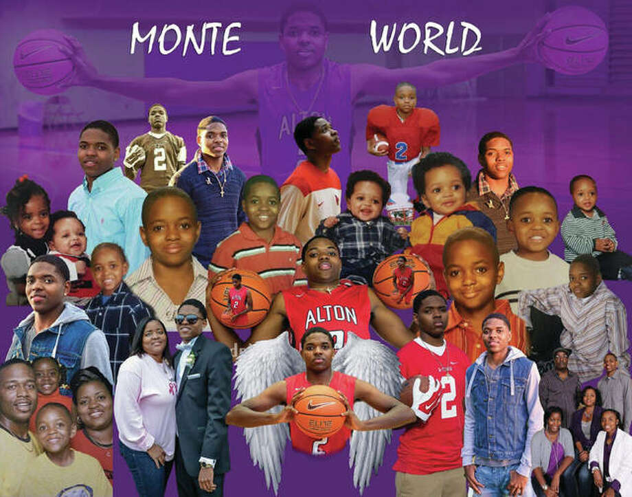 The #MonteWorld 20th Birthday Takeover, in memory of Demonte' Wigfall, a standout Alton High School athlete, is a celebration of his life. Wigfall was killed in a traffic crash in 2016. The 20th Birthday Takeover is from 12 to 8 p.m. Saturday at James H. Killion Park at Salu in Alton.