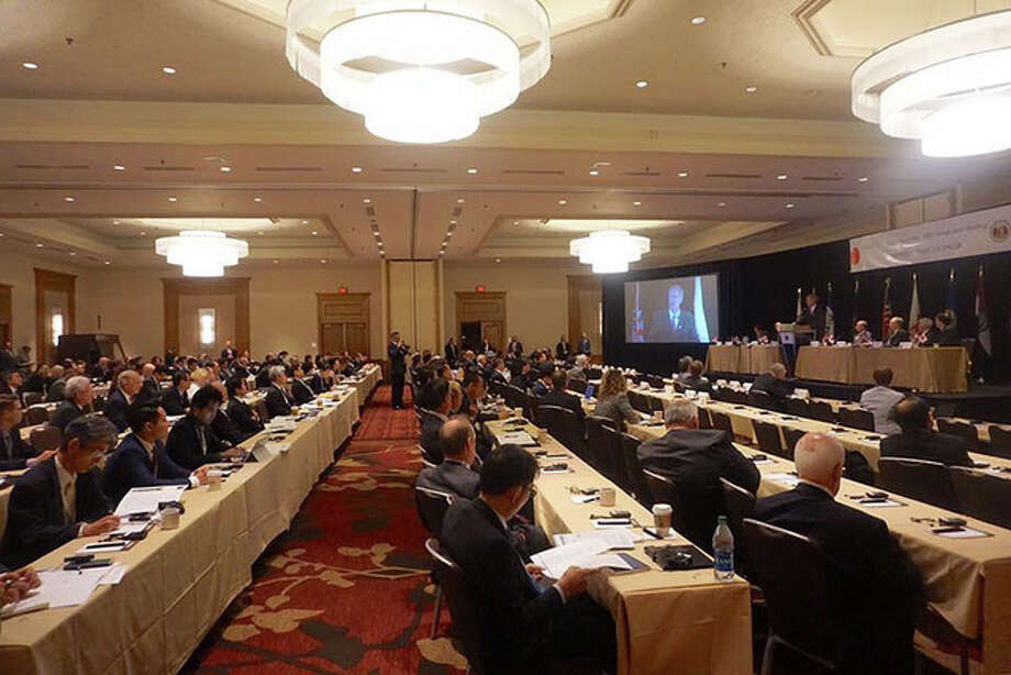 The annual Midwest-U.S. Japan Association Conference continues today in St. Louis. It brings together government and business leaders from the Midwest and Japan to discuss ways to strengthen the relationship between the region and the country. Photo: Photo Provided