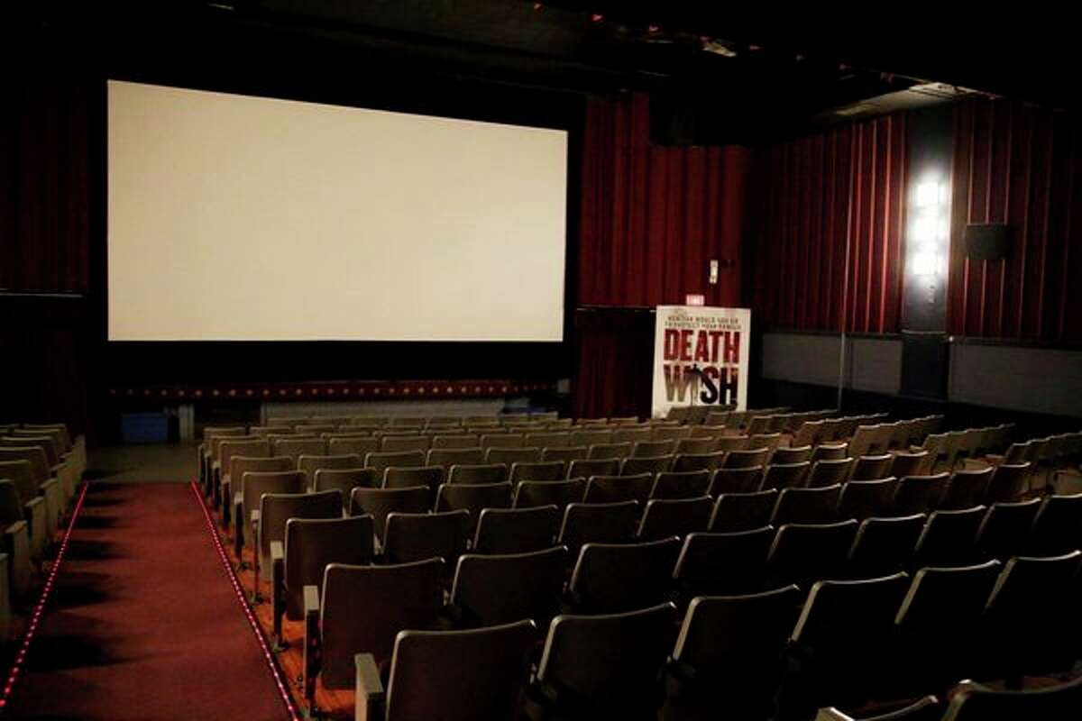 Cinema 1 serves as the main screen for the Bad Axe Theatre and plays host to the biggest moves shown on the silver screen. (Paul P. Adams/Huron Daily Tribune)
