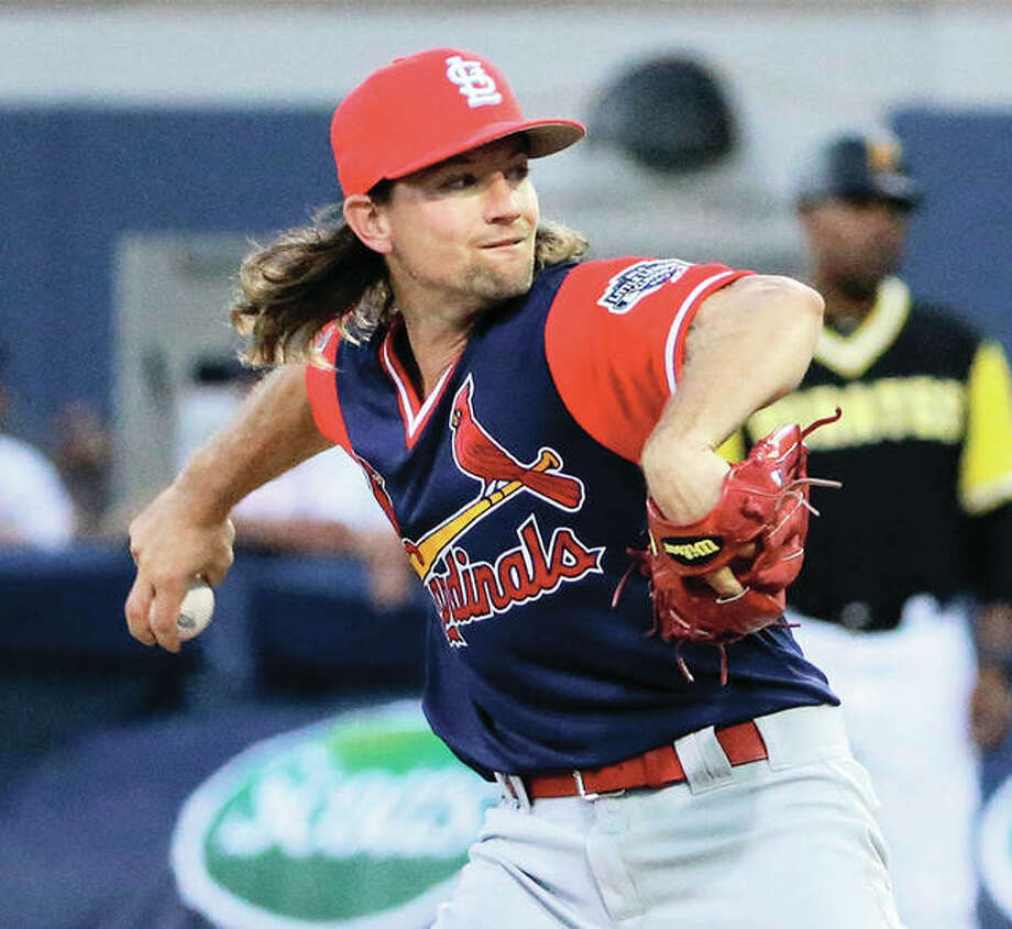 The Cardinals traded starting pitcher Mike Leake and cash to the Seattle Mariners on Wednesday for a minor-league shortstop. Photo: Associated Press