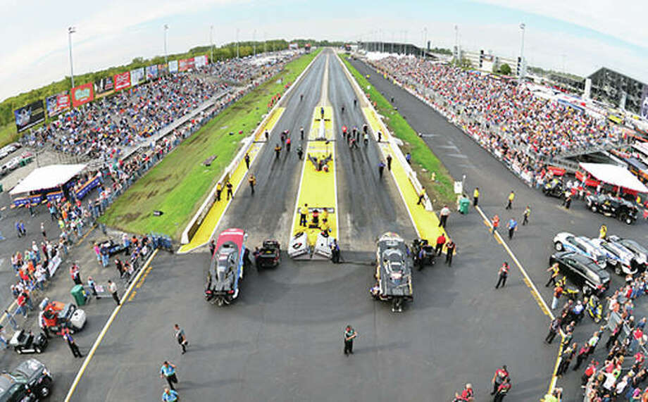 The sixth annual AAA Insurance NHRA Midwest Nationals is set for Sept. 29-Oct. 1 at Gateway Motorsports Park in Madison Photo: GMP Photo