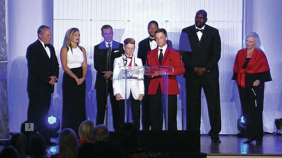 "Bailey's nephews requested another ""Bullying: Enough is Enough"" because the problem still existed within their schools. The teenagers gave Bailey's latest Emmy Award ceremony acceptance speech in front of at least 700 people last Saturday at the Chase Park Plaza in St. Louis. Photo: For The Telegraph"