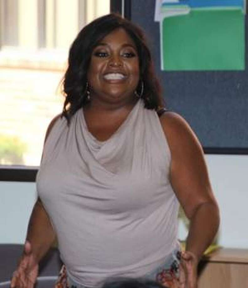 Actress, comedian and television personality Sherri Shepherd visited the SIUE East St. Louis Charter High School (CHS) on Friday, Sept. 15.