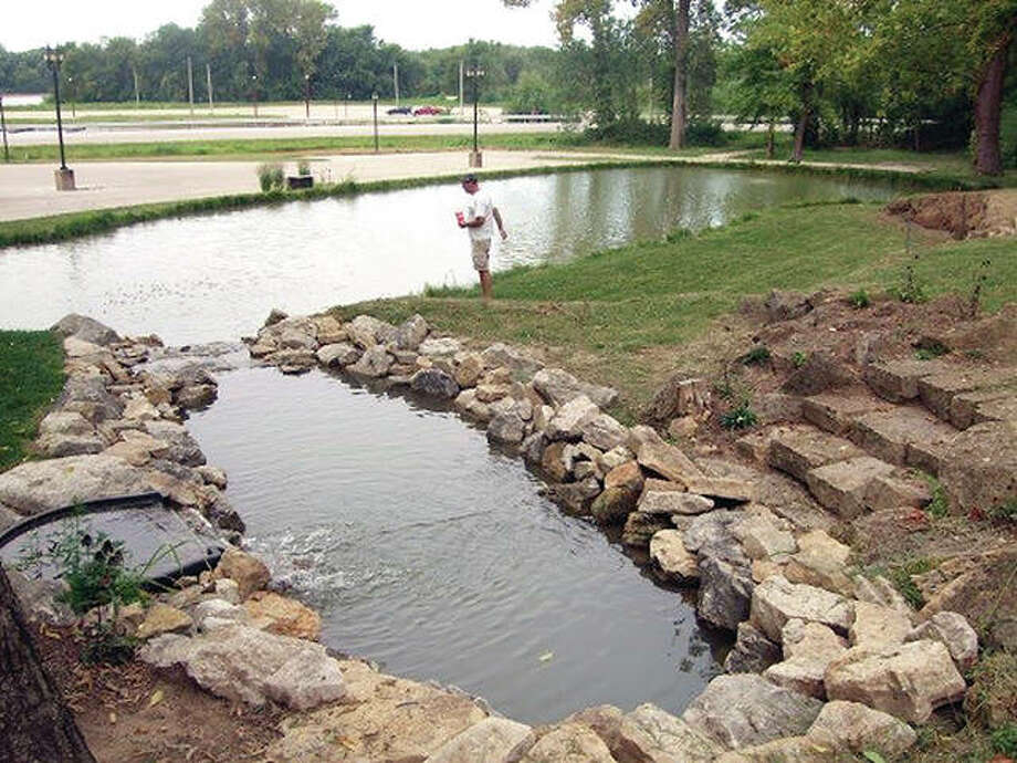 The public is being encouraged to attend the 11:30 a.m. Oct. 6 dedication ceremony and grand opening for the Pere Marquette State Park Park Educational Pond. Photo: Submitted Photo