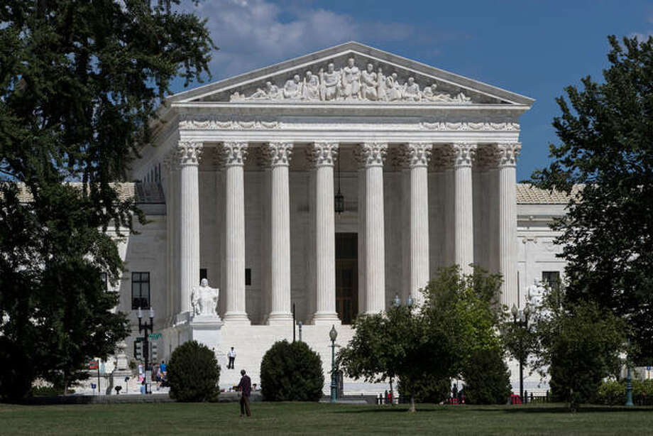 In this June 26, 2017 photo, The Supreme Court is seen in Washington. A Supreme Court with a reconstituted conservative majority is taking on a new case with the potential to financially cripple Democratic-leaning labor unions that represent government workers. The justices deadlocked 4-4 in a similar case last year. Photo: AP Photo/J. Scott Applewhite