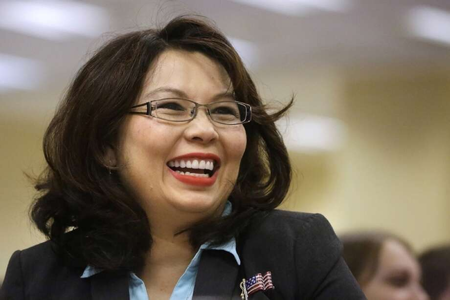 In this Aug. 13, 2014, file photo, Illinois Democratic U.S. Senate candidate, Rep. Tammy Duckworth, appears in Springfield. AP Photo | Seth Perlman
