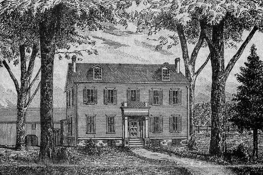 This drawing shows how the Duncan Mansion in Jacksonville looked prior to the addition of the porches that are on the house today.