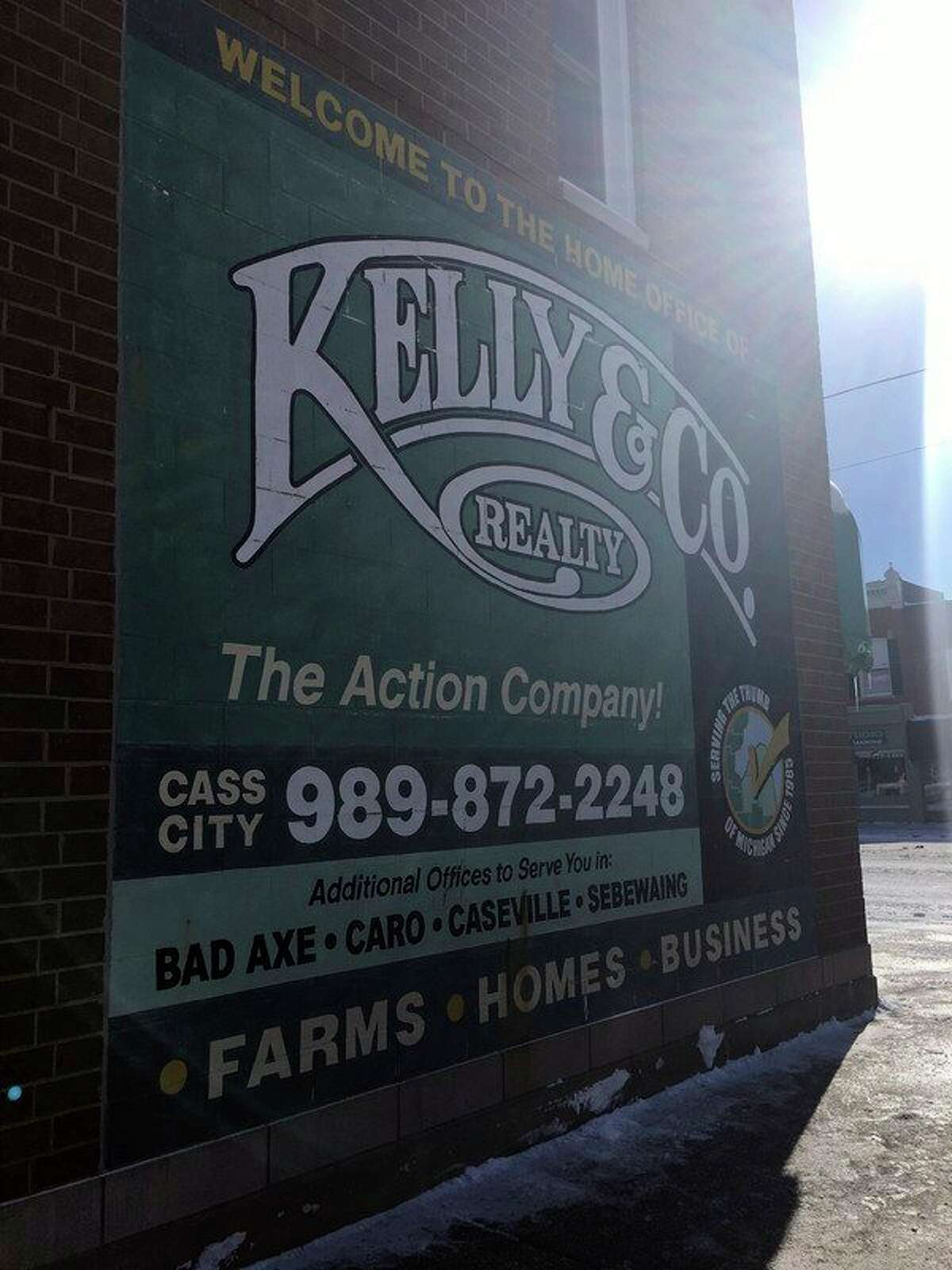 Based in Cass City, Kelly & Co. Realty has been serving the Upper Thumb since 1985. (Brenda Battel/Huron Daily Tribune)