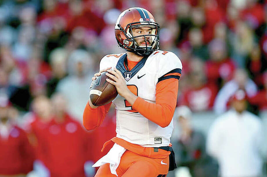 Jeff George Jr. will get the start Saturday for Illinois against Iowa Photo: AP