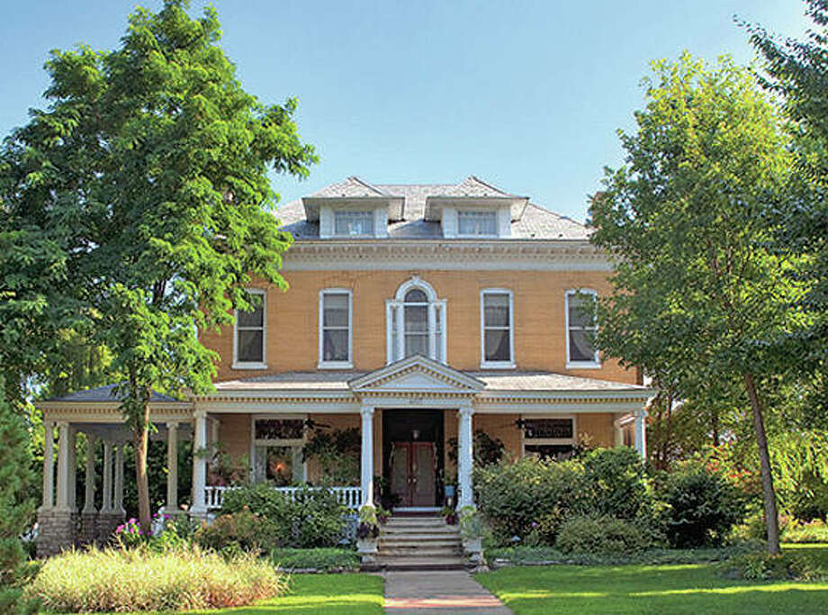 The historic Beall Mansion at 407 E. 12th St. now operates as a bed and breakfast. Photo: Photos By Vicki Bennington