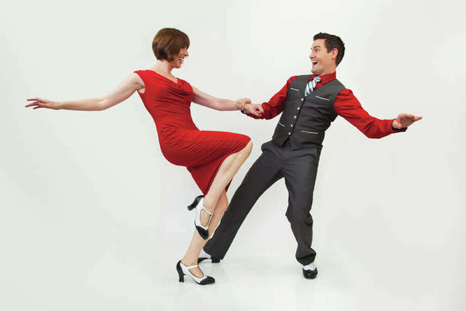 """""""Two on Tap,"""" featuring professional dancers and stars of the show Melissa Giattino and Ron DeStefano, also will feature a special number with students from DanceWorks Studio in Jerseyville and Jennifer Bishop School of Dance in Alton. Photo: For The Telegraph"""
