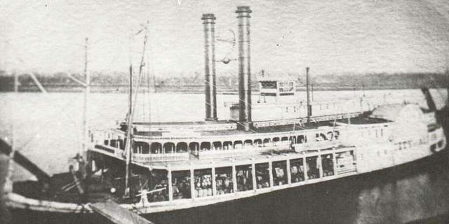 The Alton - St. Louis Packet Company built the handsome steamer City of Alton in 1860. The packet company dominated river commerce out of Alton as long as the railroads depended on steamers to take passengers and freight on to St. Louis. The City of Alton participated in the 1861 raid on the arsenal at Jefferson Barracks. The boat was later sold to the government and served as the flagship for General Grant's forces in the battle of Vicksburg. Photo: File Photo
