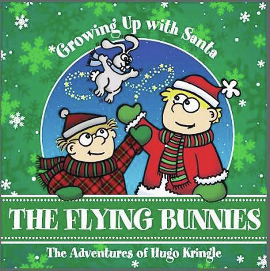 "Mike Anderson will sign copies of his book, ""The Flying Bunnies"" on Friday at Our Town Books as part of the Imagine Foundation's Downtown Gallery Hop. Photo: Submitted Photo"
