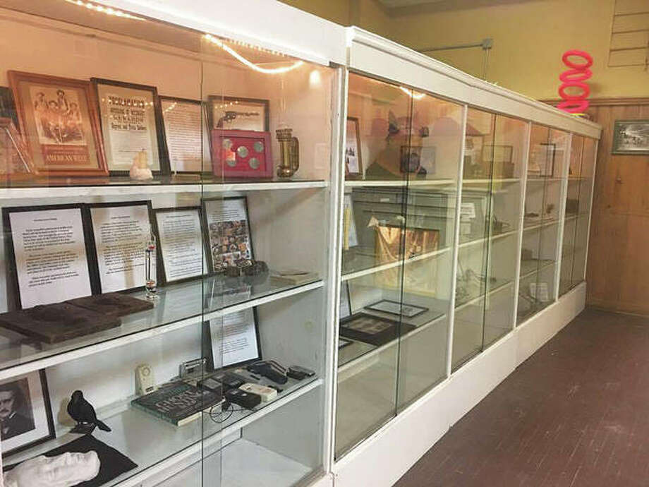 Curiosity Museum owner and curator Janet Kolar collected authentic devices and unusual pieces behind glass in five large cases, such as a vampire-killing kit that contains a 150-year-old Slovak-language Bible. Photo: Jill Moon|The Telegraph