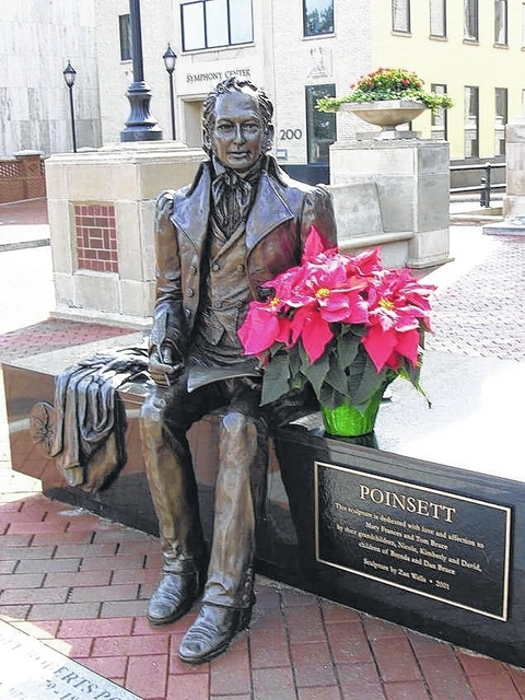 Poinsett S Legacy Lives On In Christmas Plant Jacksonville Journal Courier