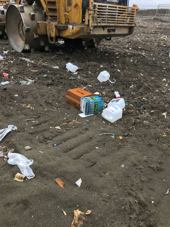 Owners of a landfill in Rensselaer have been ordered to stop taking unacceptable waste not allowed under its permit, according the state Department of Environmental Conservation. (DEC photo)