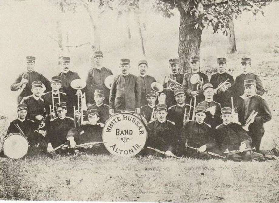 The White Hussar Band later became the Alton Municipal Band. Concerts were often offered on Thursday nights at Riverview Park and Sunday nights at Rock Spring Park during the summer. Photo: File Photo