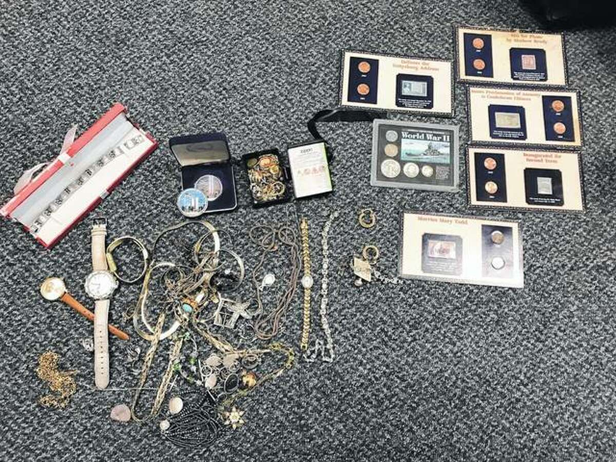Items recovered by the Madison County Sheriff's Office on Nov. 5.