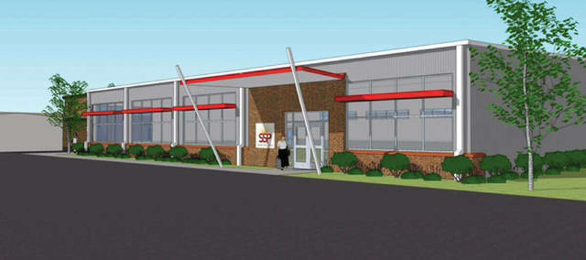 Artist's rendering of proposed Wellness Center at Senior Services Plus.