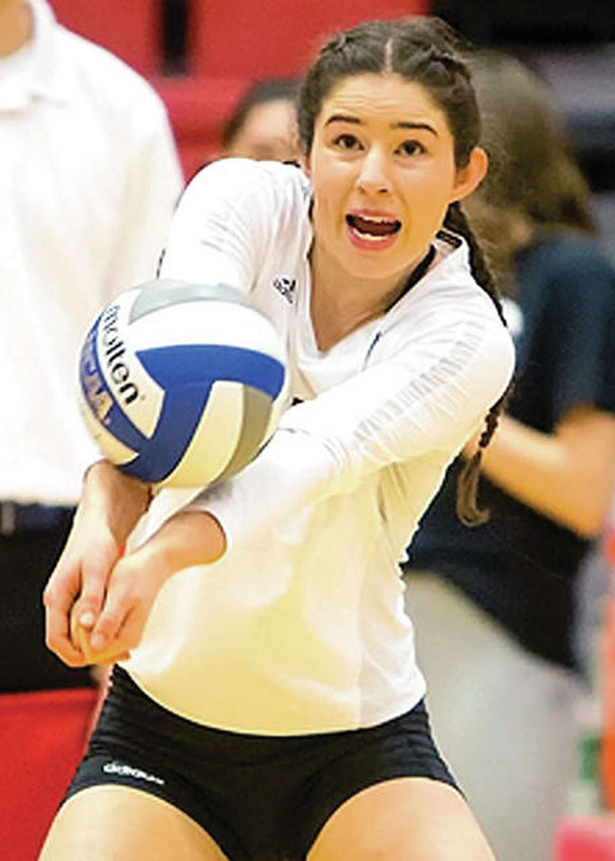 Jackie Scott and her SIUE teammates are the No. 2 seed in this week's Ohio Valley Conference Volleyball Tournament.