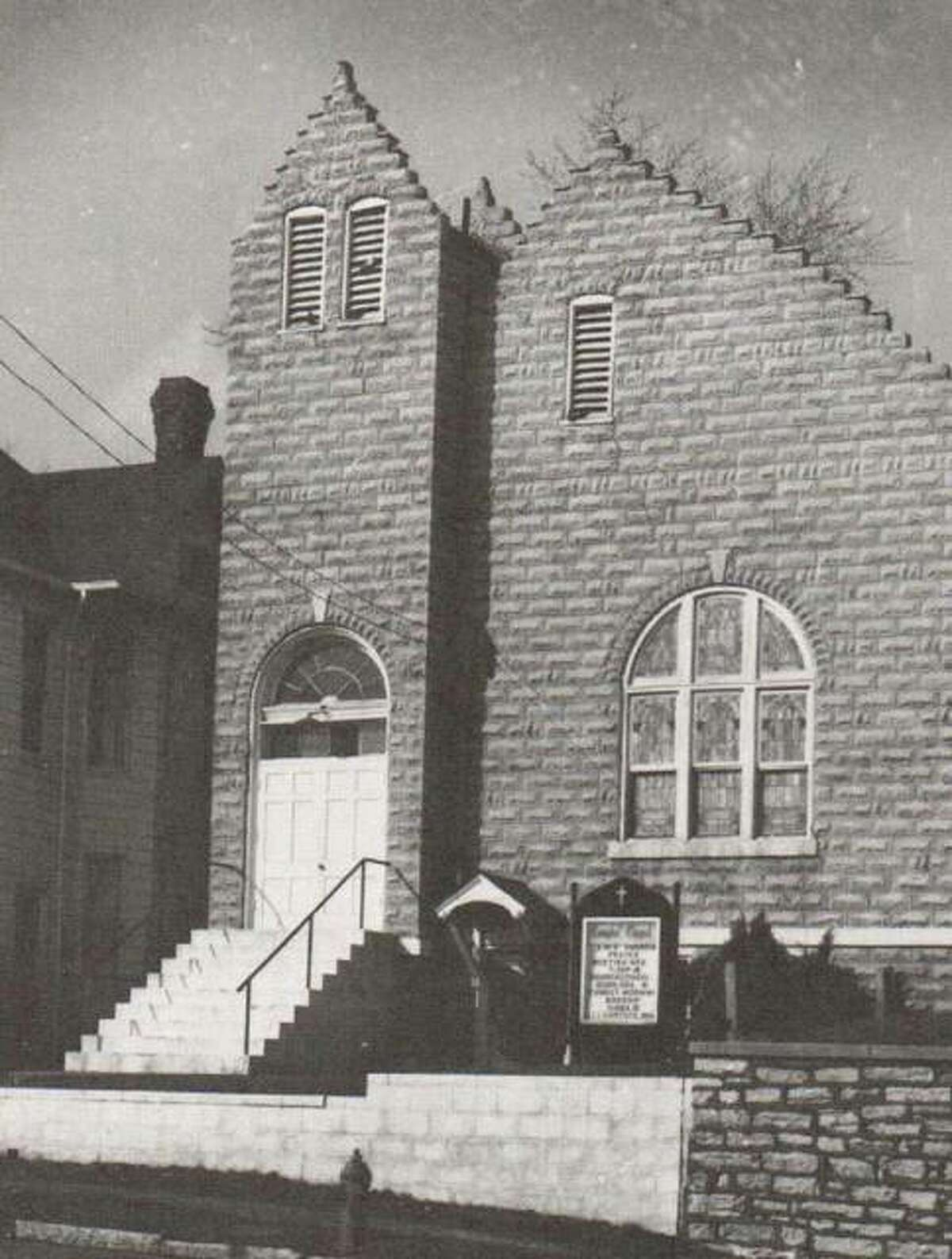 The Campbell Chapel African Methodist Episcopal (AME) Church was established in about 1844, when twelve Alton Negroes began meeting with Paul Quinn, a missionary who founded many churches for disinherited black Americans. Their first building was located on Third Street between Oak and Central. In the 1860's when Colonel Hunter laid out Hunter's Addition, he deeded the land to the congregation. The church was completed in 1867, but was damaged by fire in 1972. It was remodeled, and still is one of the earliest AME churches in Illinois. It was named for a bishop important in the original AME movement.