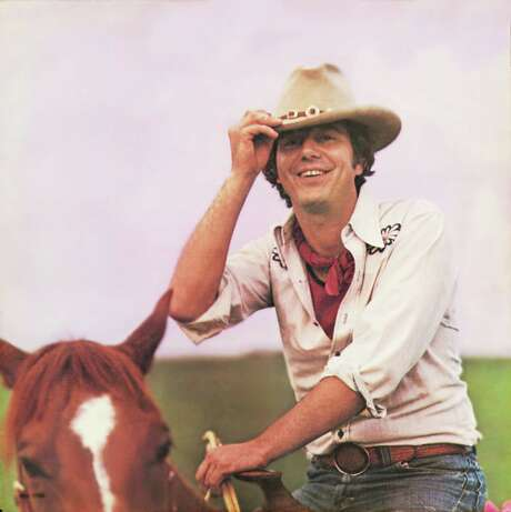 """In 1975, Walker — on horseback for the """"Ridin' High"""" album — was at the height of his fame. He wrote """"Mr. Bojangles"""" in the 1960s, when life looked different. Photo: Melinda Wickman /Courtesy"""
