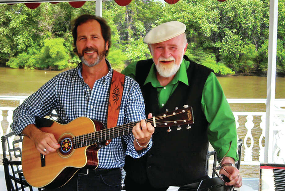 "Barry Cloyd (from left) and Ken Bradbury will perform this weekend with Mike Post in a musical show titled ""Hootenanny."" Photo: Submitted Photo"