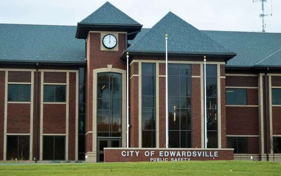Edwardsville's new, 45,000-square-foot public safety facility. Photo: Matt Kamp | For The Telegraph