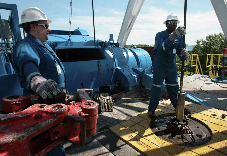 Schlumberger, the largest oilfield services company in the world, closed 2019 with a $10.9 billion loss following hefty write downs on two past acquisitions and weakening demand for hydraulic fracturing services in the United States and Canada. Photo: Mayra Beltran, Staff / Houston Chronicle