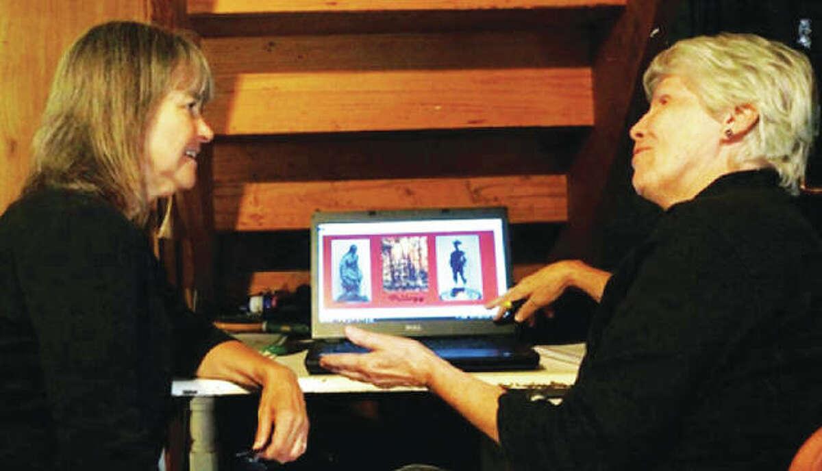 Ann Davidson, left, and Jean King