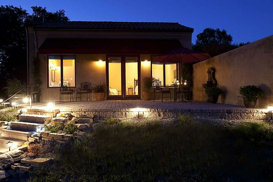 The light-filled guest villa at Dunning Vineyards in Paso Robles. Photo: Jason Vest, Special To The Chronicle