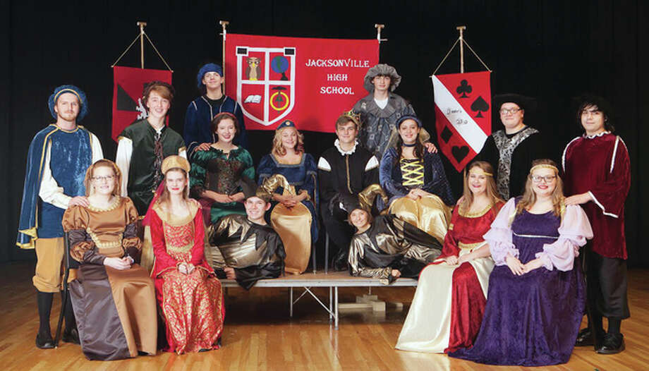 The cast of the annual Jacksonville High School Madrigal Dinner will be featured with two performances in early February