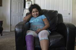 Desiree Zertuche suffered severe lacerations and cuts to her hand and leg after a pitbull mix attacked on the street in November 2014. Is ACS doing enough to track dangerous dogs?