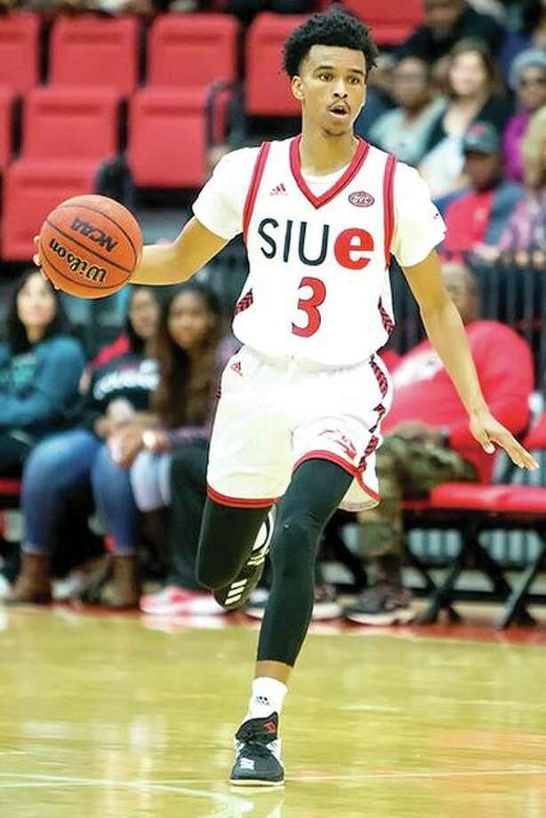 Daniel Kinchen scored 23 points to lead SIUE to its first victory of the season, an 80-76 decision over Stetson Saturday in Deland, Fla. Photo: SIUE Athletics