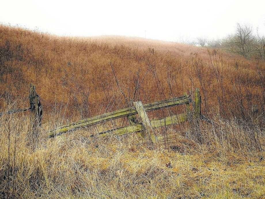 An old fence defies time and elements and is still standing in rural Morgan County. Photo: Kathy Caruthers | Reader Photo