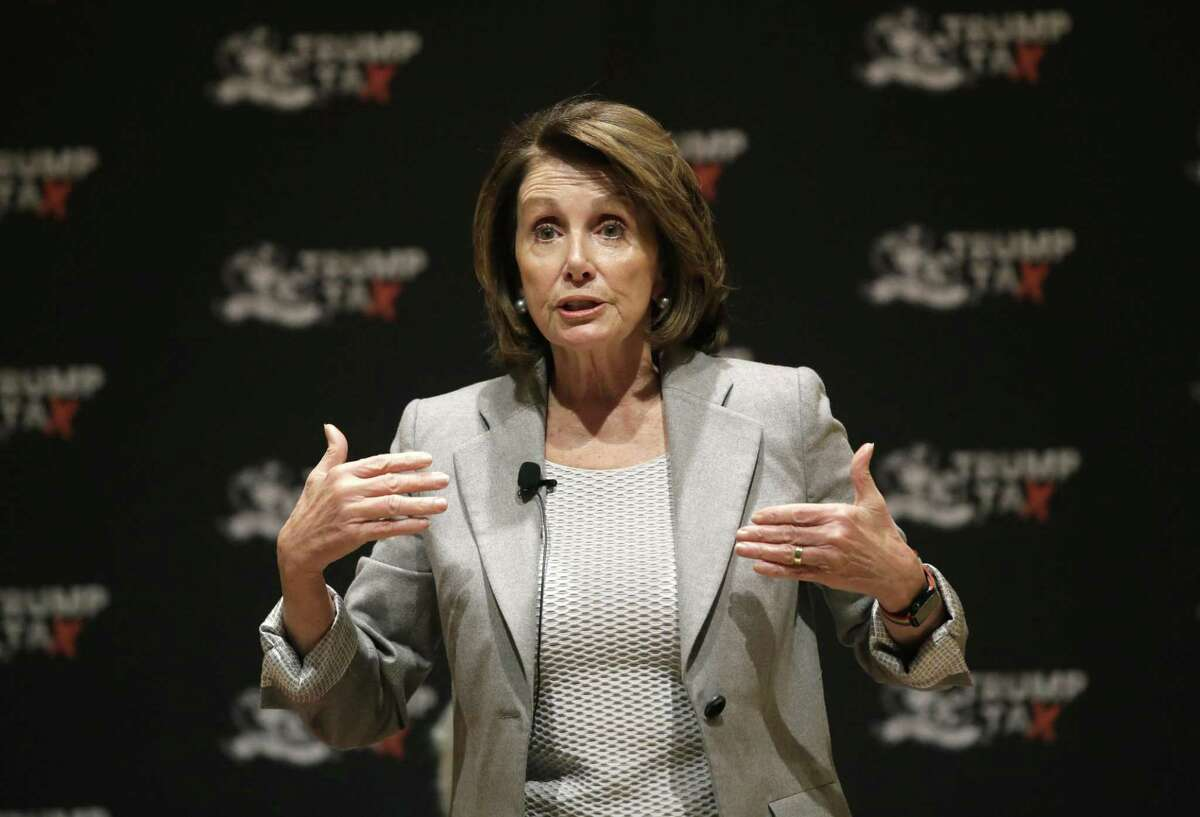 House Minority Leader Nancy Pelosi speaks during a town hall-style meeting in Cambridge, Mass. A reader condemns the Democrat for her