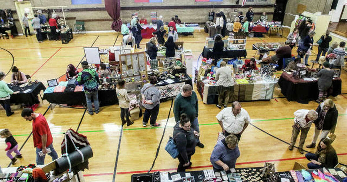 More than 40 vendors filled the Alton YWCA Saturday for the Green Gift Bazaar.