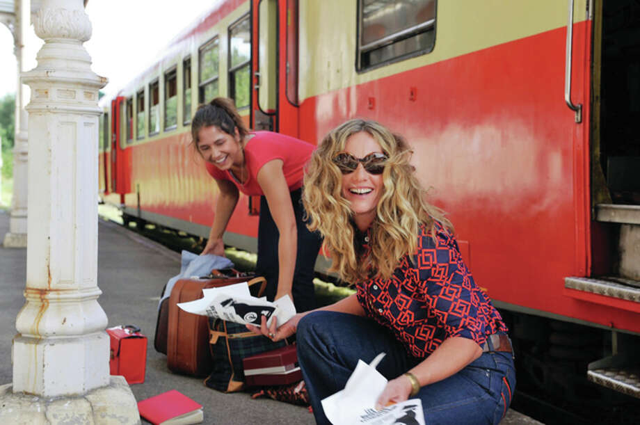 "Cécile De France (right) as Carole and Izïa Higelin as Delphine are shown in a scene from the 2015 French film ""Summertime."" Photo: Handout Photo"