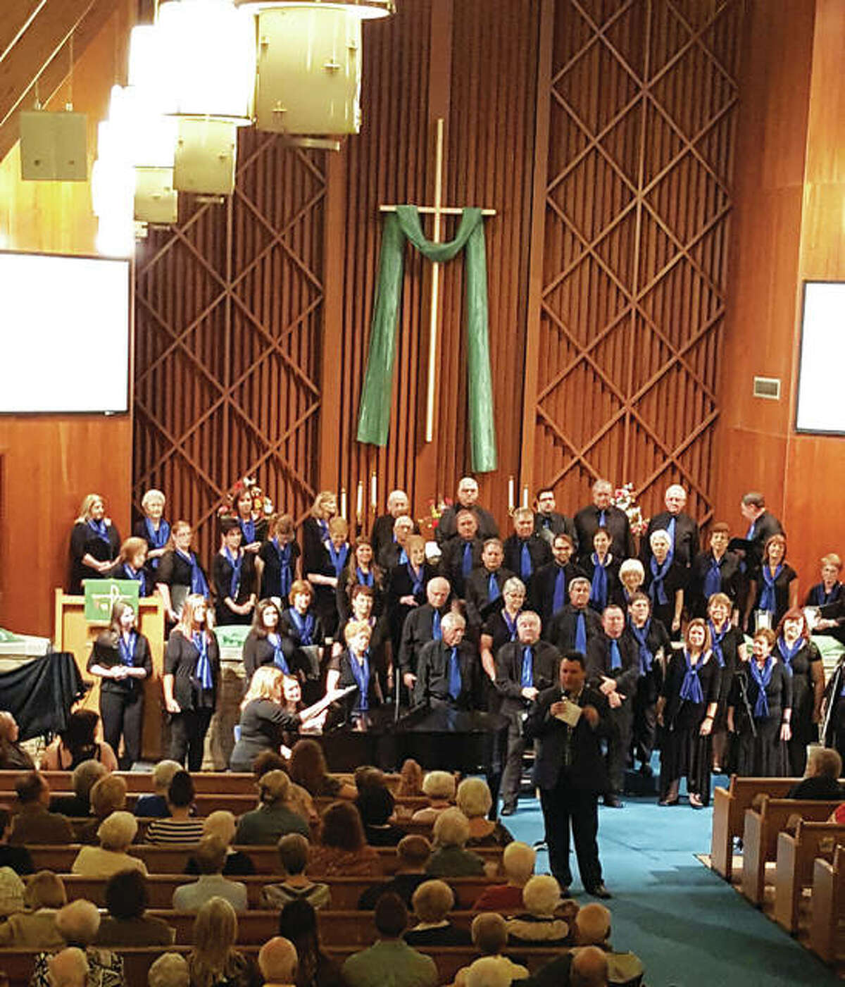 The Collinsville Chorale includes members from around the Metro East and Greater St. Louis area.