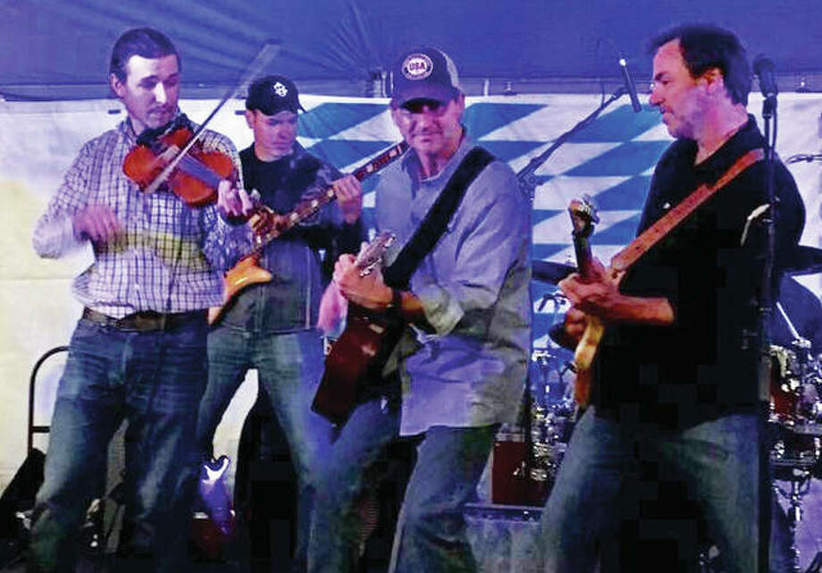 The Glendale Riders is made up of lead vocalist Steve Schwegel, who also plays guitar; lead guitarist Jeff Bensman and his son, Jared Bensman, on fiddle; Jeff's brother, Jim Bensman, on drums; keyboardist John Hand; and, bassist Chris Hammond. Band members have played together for more than 10 years. Photo: For The Telegraph