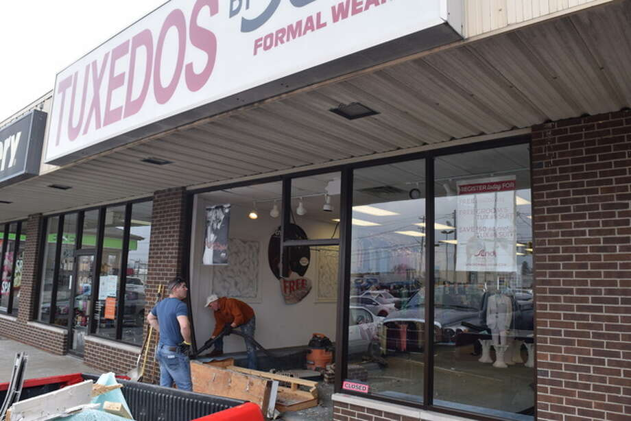 At 11:45 a.m. Saturday an individual crashed through the storefront of Seno Formal Wear on 904 W. Morton Ave. The manager of the businesses stated that no employees were hit during the time of impact. Details of the crash are to follow.