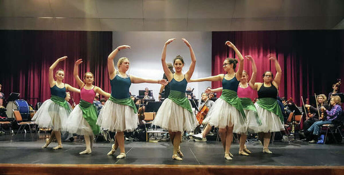 """Dancers from the Creative Dance Studio at Nautilus Fitness Center will perform during Alton Symphony Orchestra's presentation of """"Nutcracker Suite."""""""