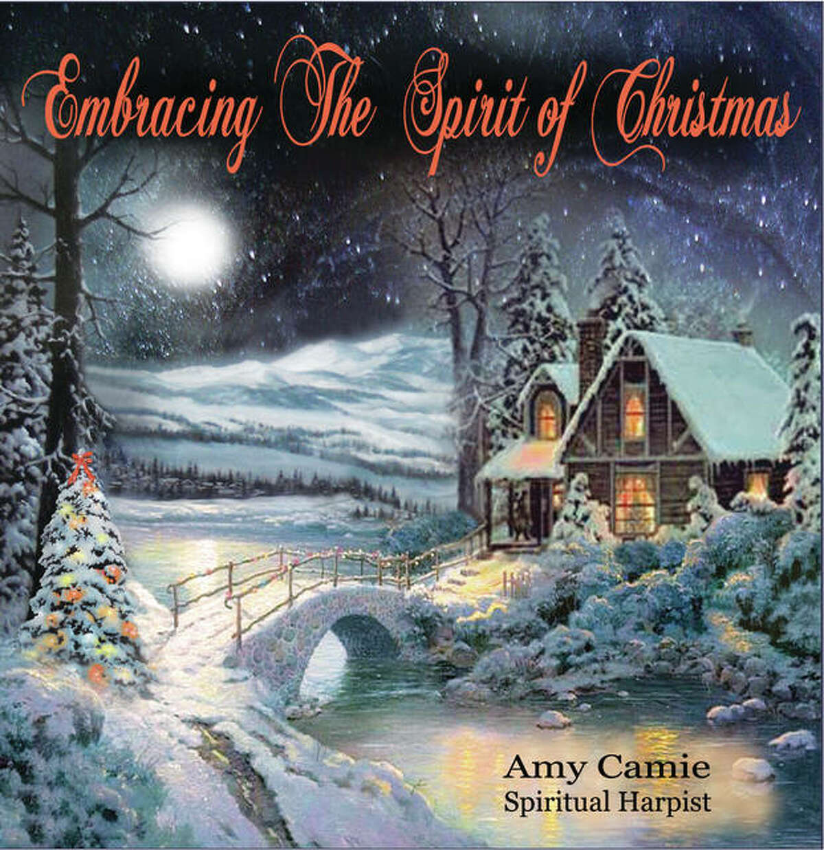 """Former Godfrey resident Amy Camie will present a concert of the same name as her CD, """"Embracing The Spirit of Christmas,"""" at 7 p.m. Saturday, Dec. 16, at Eliot Unitarian Chapel in Kirkwood, Missouri. The concert is free, but love donations are accepted. CDs cost $15. For more information or to purchase a CD, visit www.amycamie.com."""