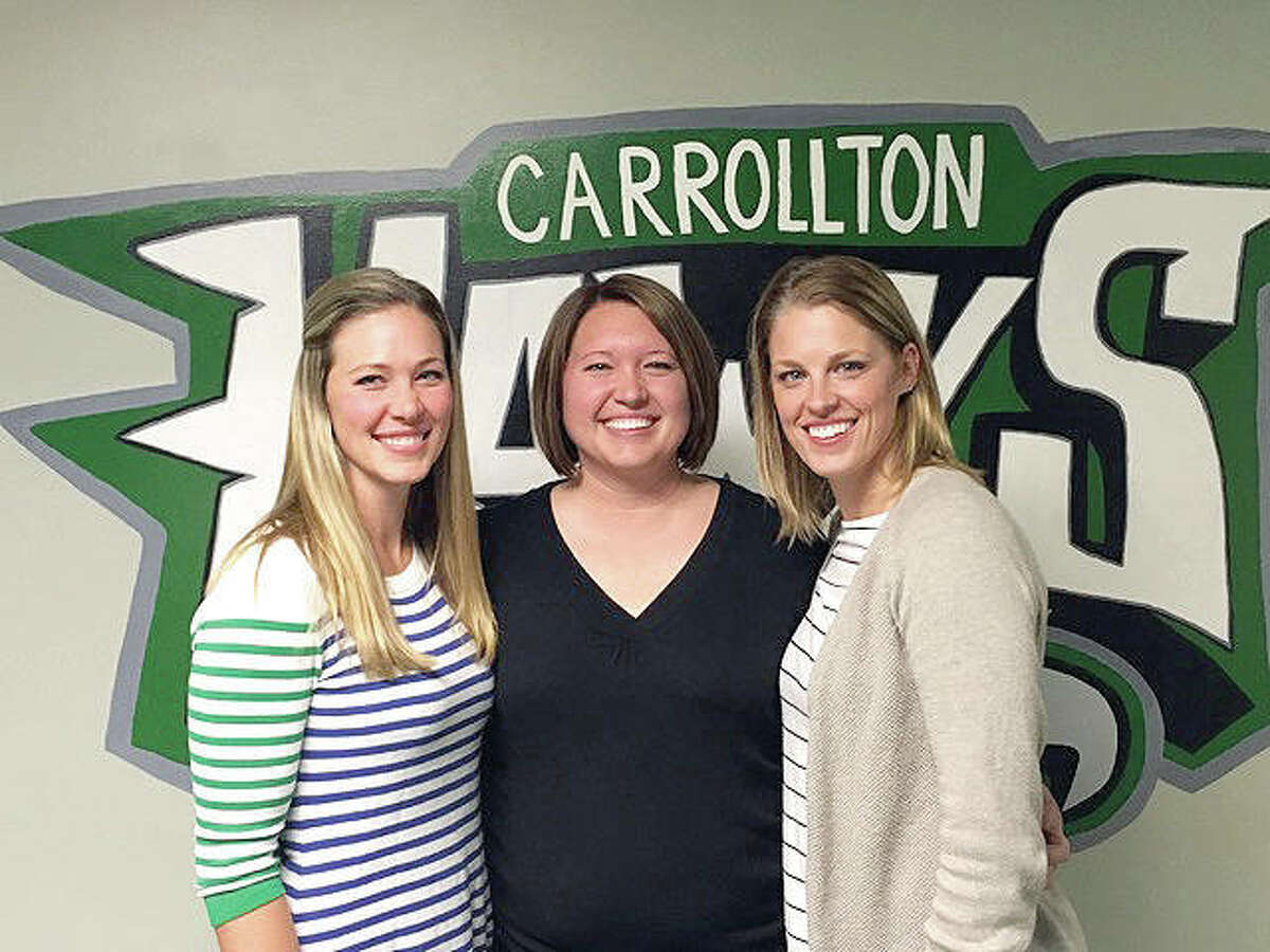 Carrollton's DeShasier sisters, from left, Alicia, Liz and Stosha, have been elected to the Illinois Basketball Coaches Hall of Fame. The announcement was made Thursday. The 2018 hall of fame class will be inducted next spring at Illinois State University's Redbird Arena in Normal. Also among this year's inductees are another former Carrollton player, Amber Shelton, as well as former Alton High great Kavon Lacey.